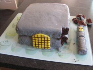 How I Made A Castle Birthday Cake Like Domestic Goddess Almost