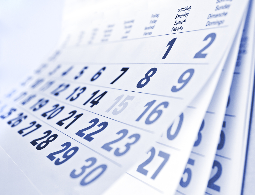 calendar 2013 organisation tips