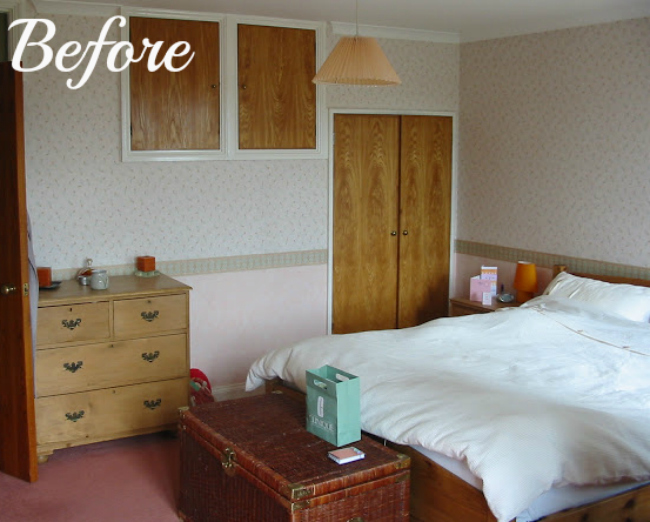 Modern Country Bedroom Before | Tots 100