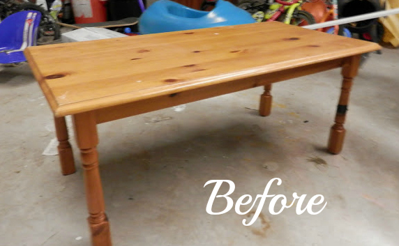 coffee table revamp