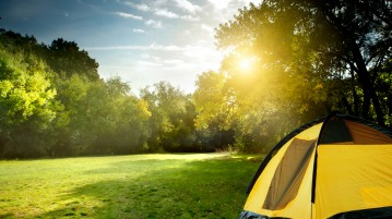 family camping sites