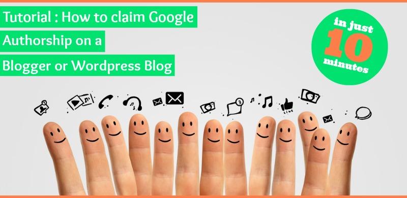 how to claim authorship wordpress blogger