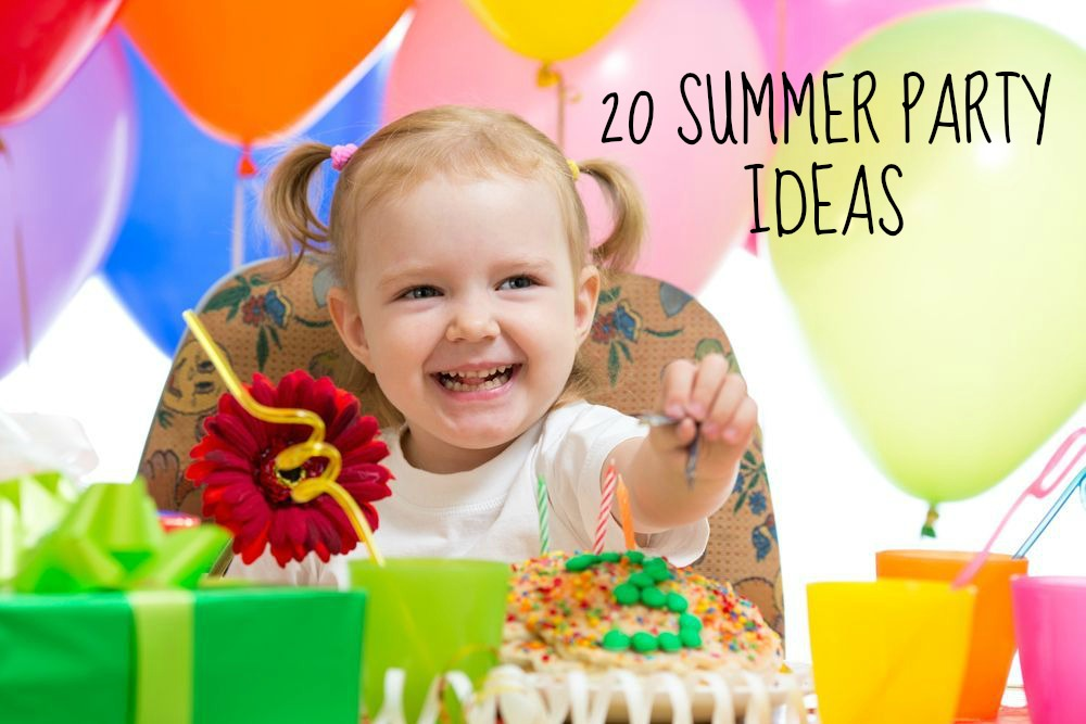 20 summer birthday party ideas tots 100 Summer party themes