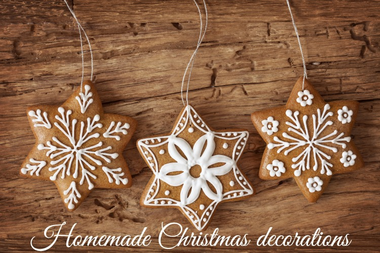 Homemade christmas decorations tots 100 for Homemade decorations