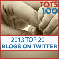 Tots100 Top Bloggers on Twitter