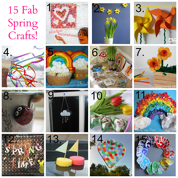 15 Fab Spring Crafts Tots100