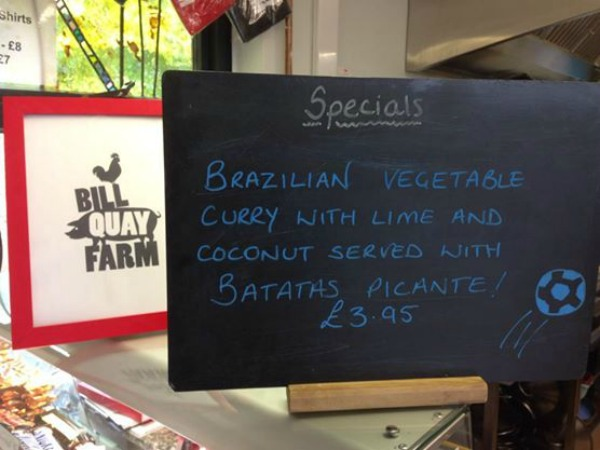 Specials at Bill Quay