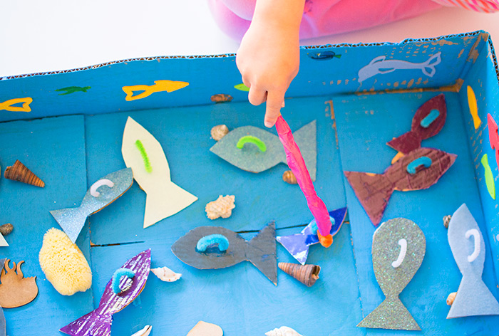 How to make a simple fishing game for kids tots 100 for Easy fishing games