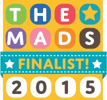 About Me, Extraordinary Chaos,MAD Blog Awards Finalist UK 2015