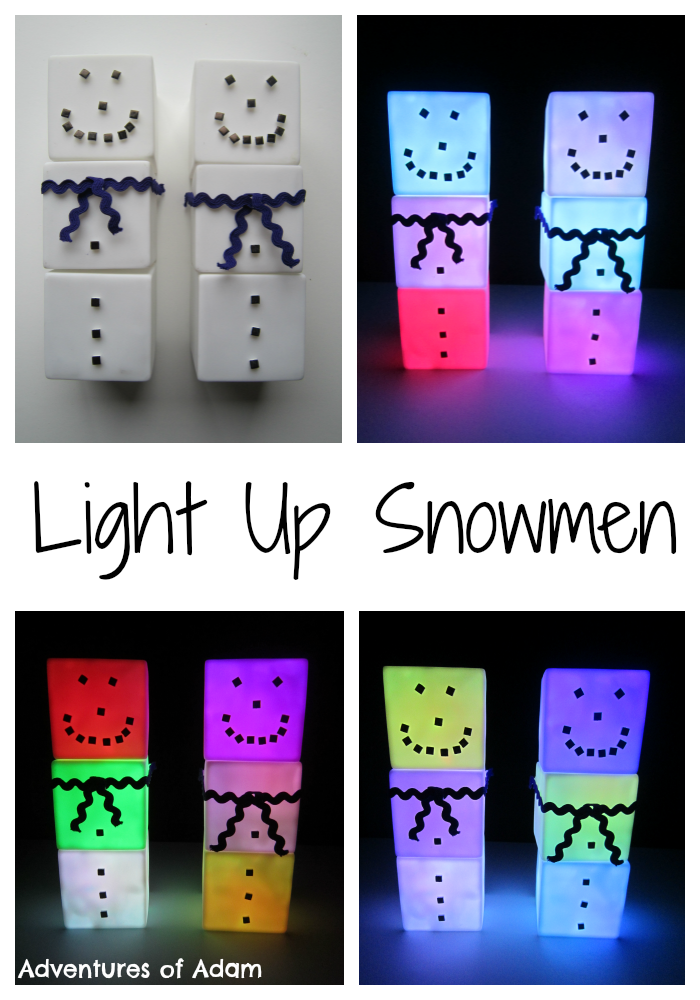 Light-Up-Snowmen