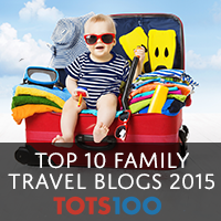Tots100 Top Family Travel Blogs
