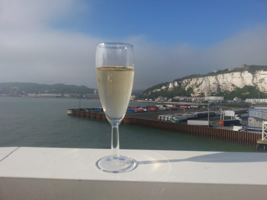 Champagne at Dover