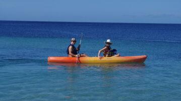 Kayaking in Grenadines