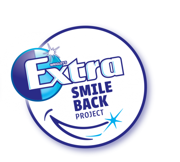 Wrigleys extra smile back project tots 100 extra smile back logo thecheapjerseys Images