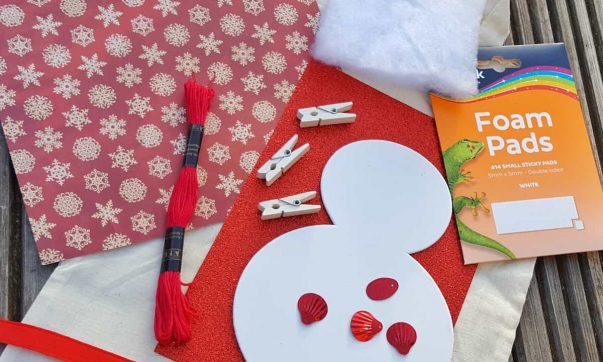 Snow Day Craft Ideas from the Bostik Bloggers