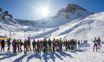 Uncrowded slopes & blue skies… Spring skiing in Tignes