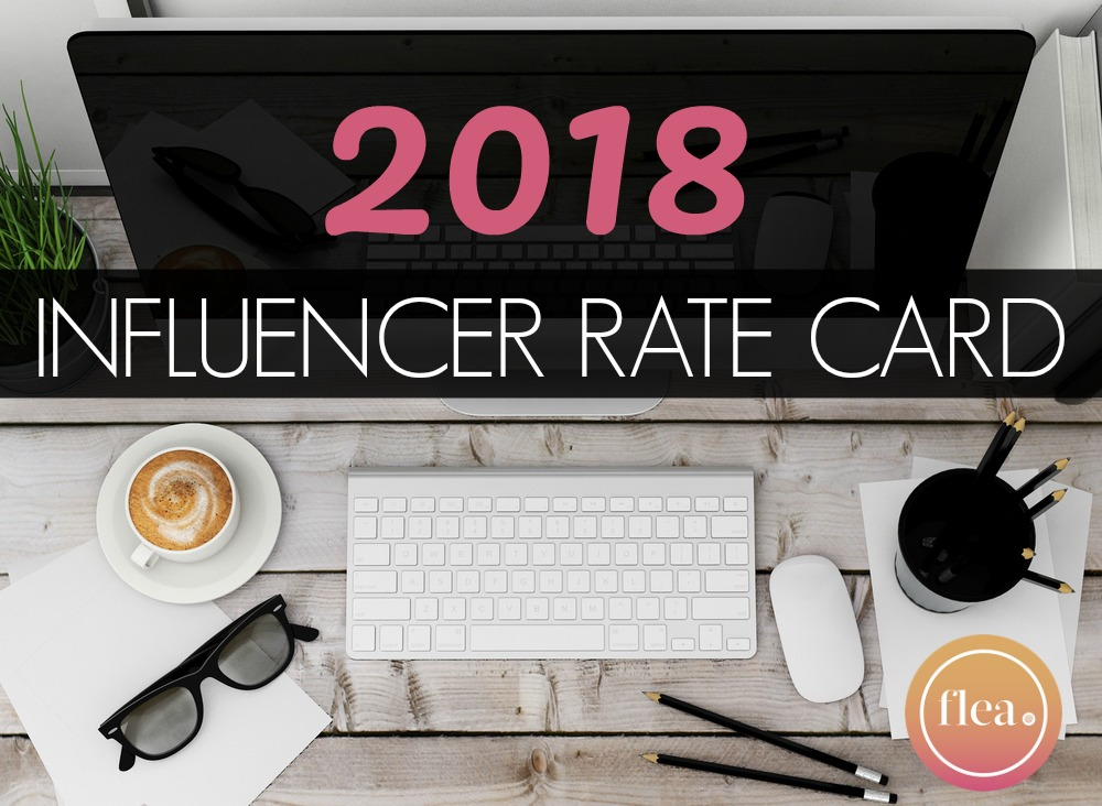 UK influencer rates for sponsored posts and videos