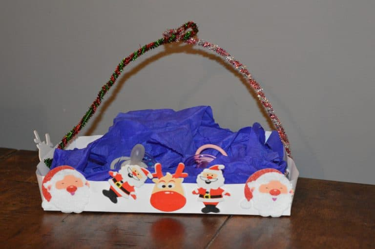 Christmas basket from Beauties and the Bibs