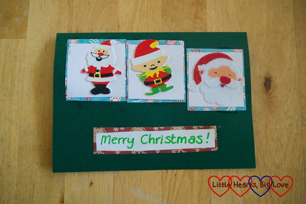 Christmas cards with kids from Little Hearts Big Love