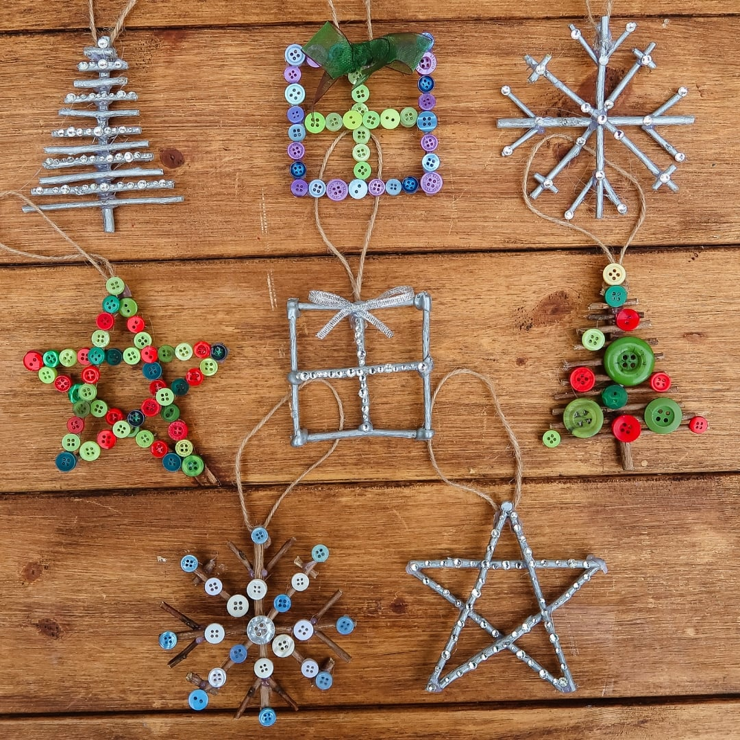 Christmas Crafts For Kids From The Bostik Bloggers Tots 100