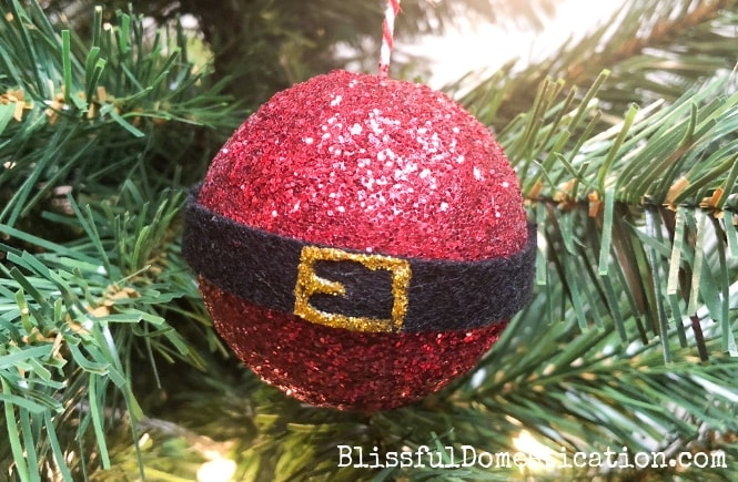 Santa Bauble from Blissful Domestication