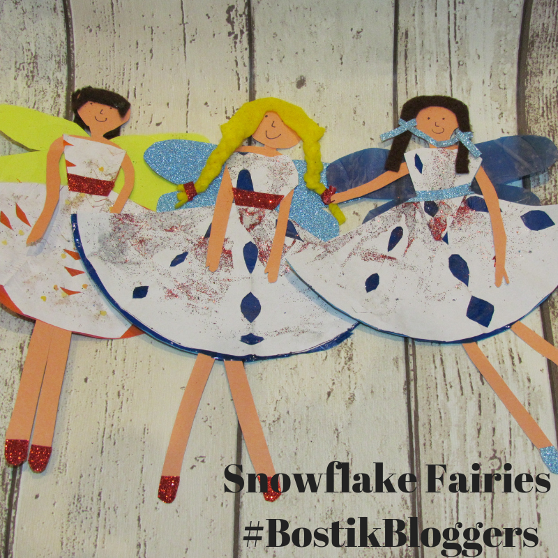 Snowflake Fairies from Diary of a First Child