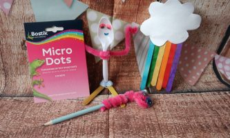 Back to School Crafts with Micro Dots from Bostik